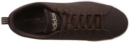adidas Advantage Clean VS, Baskets Basses Homme, Blanc, Eu Marron (Marosc / Marosc / Stcaqp)