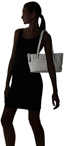 Gerry Weber - Talk Different Ii Shopper Mhz, Borse a spalla Donna Grigio (Lightgrey)