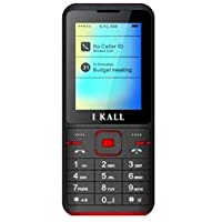 IKALL K37 2.4 Inch Display with Camera Dual Sim Multimedia Mobile (Red)