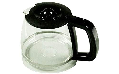 Electrolux-Jarra completa negra para cafetera Electrolux
