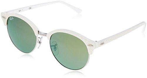 Ray-ban - Mod. 4246 - Lunettes De Soleil Unisex-Adult, top wrinkled white on white (top wrinkled white on white), taille 51