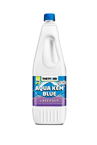 Thetford Aqua Kem Blue Lavender 2 Liter Sanitär Flüssigkeit Lavendel Duft Camping Toilette