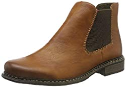 Rieker Damen Z4994-24 Chelsea Boots, Braun Cayenne Brown 24, 40 EU
