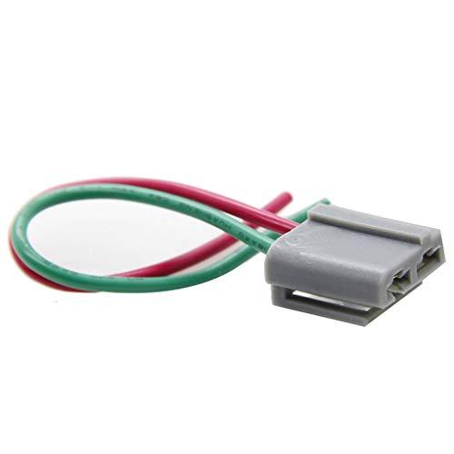 Pegcdu Durable 2 Pins HEI Coil Kappe Verteiler Dual-Stecker Kabelbaum Auto Wiring Pigtail-Stecker Dual-pigtails