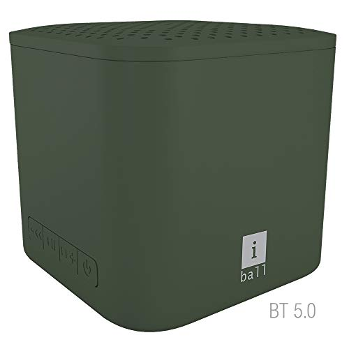 iBall MusiPlay A1 Wireless Ultra-Portable Bluetooth Speakers (Olive Green)