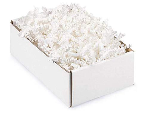 Kräuselpapier für Geschenke - 500 gr (weiss) ()