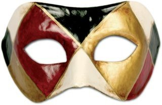 Karneval / Kostüm / Halloween Venezianische Maske - Colombina arlecchino classico