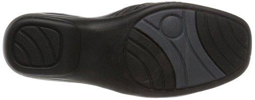 Comfortabel Damen Halbschuhe, Slipper, schwarz, 941546-1 schwarz