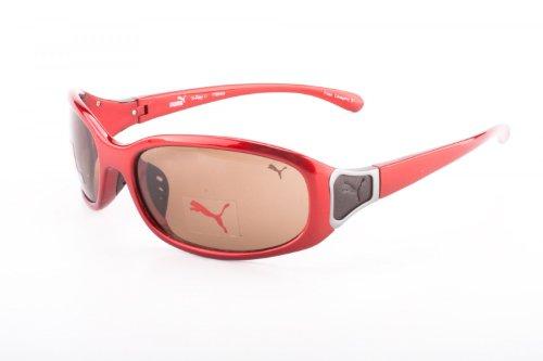 PUMA Unisex Sonnenbrille Red PU15084-RE