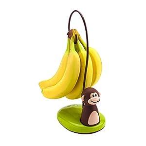Joie Bananenständer AFFE, Kunststoff, braun, 12x10x11 cm