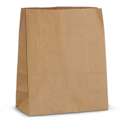 50marrón papel de bolsas de bolsas de papel kraft, usado segunda mano  Se entrega en toda España