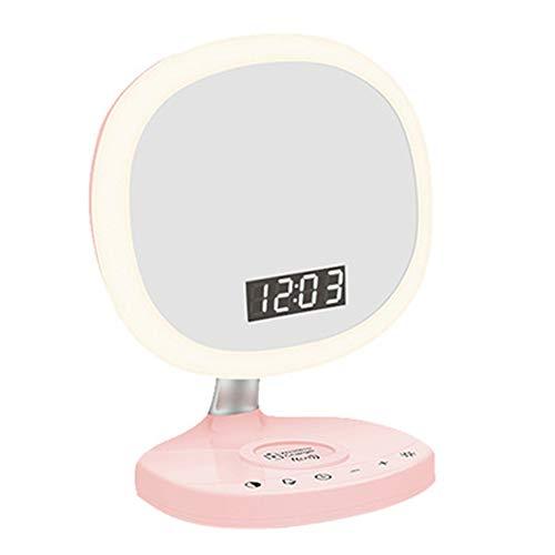 Füllen Sie Licht Make-up Spiegel Lampe Ladelampe Tischlampe Mädchen Desktop Make-up Schönheit Make-up Wecker Lampe