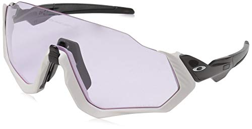 Oakley Flight Jacket, Gafas de sol para Hombre, Gris 1
