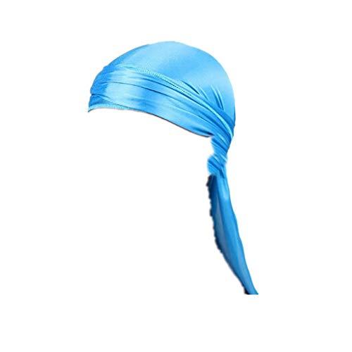 YCQUE Kopftücher, Langer Schwanz Solide Lässig Bündel Verband Camouflage Einstellbar Muslim Ramadan Turban Hijab Cap Haarreiten Wandern Zubehör Chemo-Hut Für Männer Halstücher Stirnband Schal Hijib