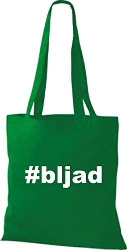 Shirtstown Stoffbeutel hashtag # bljad kelly