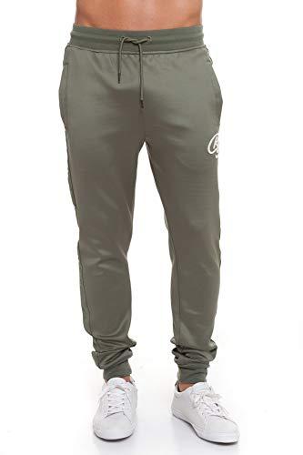 CrossHatch Montana Pants Jogginghose Oliv M