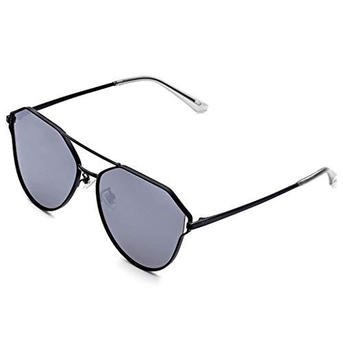 DX Persönlichkeit Katzenauge polarisierte Sonnenbrille rundes Gesicht Mode Neue Brille