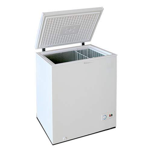 Los congeladores Milectric tiene un acabado exterior en color blanco y una capacidad total de hasta 197L. La clasificación energética es A+ Ni te enterarás de que tu congelador arcón Milectric está funcionando, pues tan solo emite 42 dB. Podrás regul...