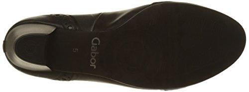Gabor Comfort Basic, Scarpe con Tacco Donna Nero (57 Schwarz/steel)