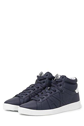 Armani Exchange Herren Schuhe Sneaker XUZ007 XV023 42.5 Blau