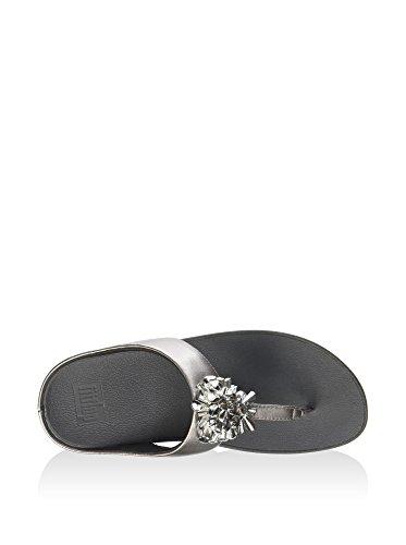 Femme Fiore Fitflop Silber Sandales 2 Metallico q08w8BU
