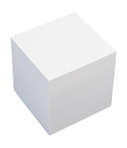 König & Ebhardt 8601010 Ersatzeinlage für Zettelbox (9 x 9 x 9 cm, 700 Blatt) weiß -