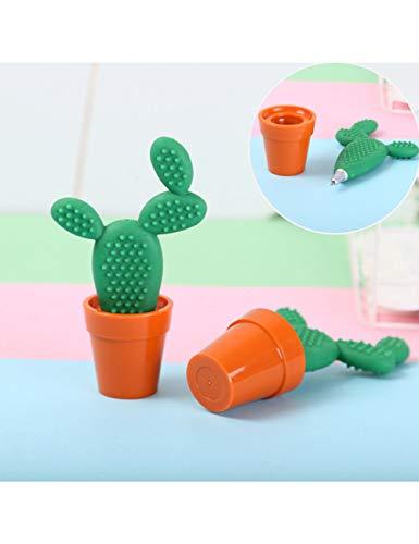 HHHHW Kreative Green Cactus Kugelschreiber Nette Bonsai Pflanze Form Kugelschreiber Für Schreibtisch Büro Schulbedarf Neuheit Geschenk