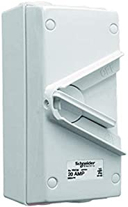 Schneider Electric 20A 440V Surface Mount Triple Pole Isolating Switch IP66 weatherproof