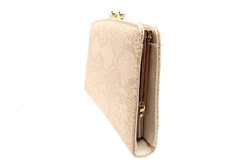 FreshGadgetz Set 1 Schwarz und weiße Handtasche für Damen Beige Gold Verschluss