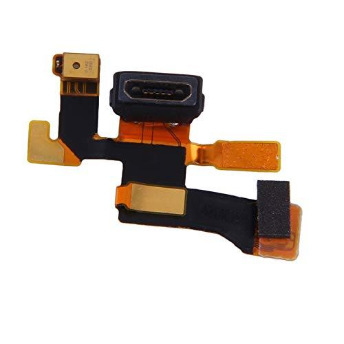Peanutaoc Oro Micro USB Connettore Microfono di carico della flessione del Cavo per Nokia Lumia 1020 Parte di Ricambio di qualità Durevole e di Alta