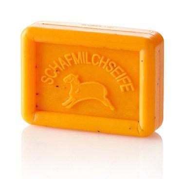 Ovis Seife Eckig Schaf Mango 8,5 x 6 cm 100 g (Seife Mango-butter)
