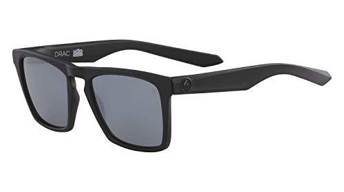 Drachen Mattschwarz H2O Silber ionisiertes DRAC-Platz Sonnenbrillen - Dragon Männer H2o Sonnenbrille Für