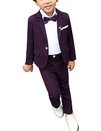 ShiFan Trajes De Ceremonia para Niños Graduación Boda Blazer Pantalones  Largos ... 6ab4aecb8fa0