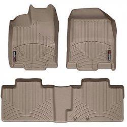 Preisvergleich Produktbild WEATHERTECH Fußmatten 442123 7-Series (F01/F02), Hellbraun