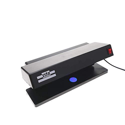 PrimeMatik - Rilevatore di Banconote False per scrivania con 2 Tubo UV di 6W 280x122x110mm