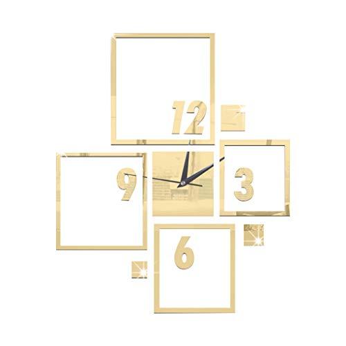 Zarupeng✦‿✦ DIY Personalizado Moderno Reloj