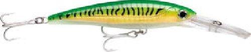 Rapala X-rap Magnum Leurres de pêche, mixte, Green mackerel