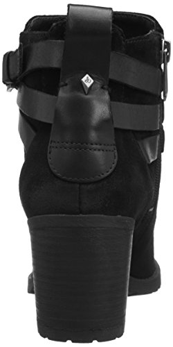Sam Edelman Hannah Femmes Cuir Botte de Moto Black