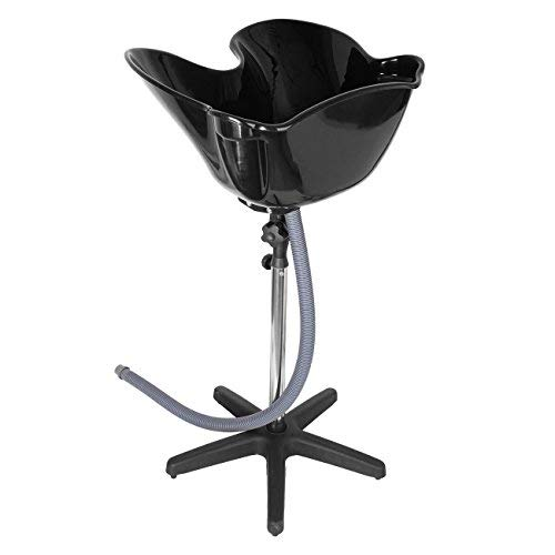 "Ridgeyard Portable Salon Shampoo Basin Sink Hair Barber Treatment Bowl Tool 38""-52"" Adjustable Height"