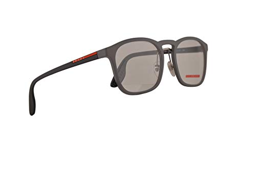 Prada PS06HV Brillen 54-20-145 Opal Gummi Grau Mit Demonstrationsgläsern VHD1O1 VPS 06H PS 06Hv VPS06H