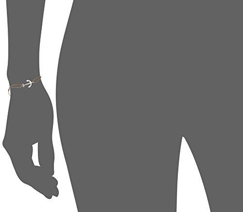 Thomas Sabo Damen-Armband Little Secrets Anker 925 Sterling Silber Grau LS001-173-5-L20v
