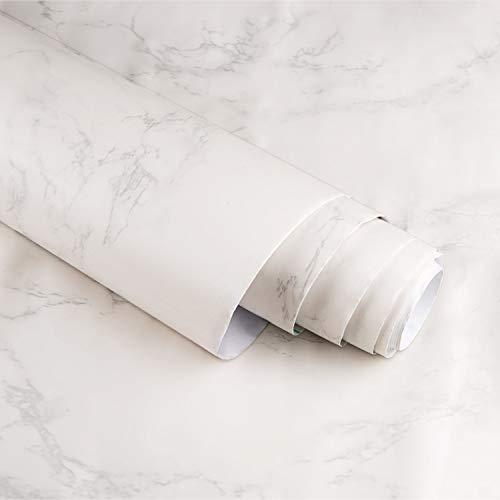 Marmor Folie Selbstklebend , Homegoo graue Granit Selbstklebefolie 24