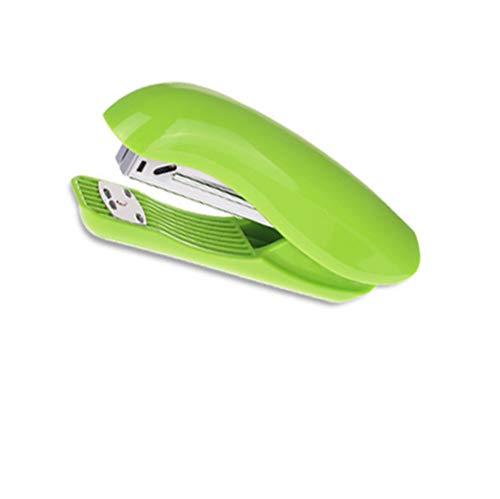 Hefter Büro Und Schule Liefert Mini Bunten Studentenmode-Bemühung Hefter (Farbe : Green)