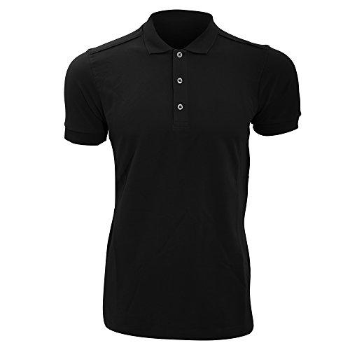 Russell Herren Stretch Polo-Shirt, Kurzarm Königsblau