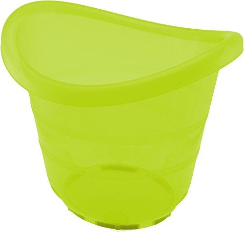 Bieco 79000062 - Baby Badeeimer grün, ca. 38 x 34 x 33 cm
