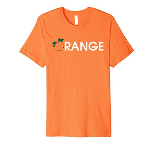 Orange Fruit T-Shirt I 'm eine orange Halloween Geschenke