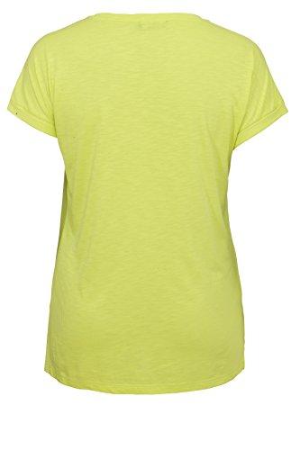 "Fröhliches Statement-Shirt ,,Citrone Summer"" Lime Green"