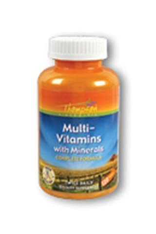 Multi Vitamins with Minerals Thompson 120 Tabs by Thompson