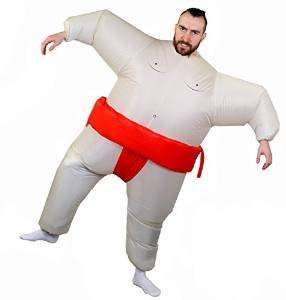 Zum Sumo Kostüm Ringer - ILOVEFANCYDRESS AUFBLASBARES KOSTÜM FÜR EINE Carry ME -TRAGE Mich VERKLEIDUNG = AUFBLASBARES Sumo Ringer KOSTÜM ZUM ANZIEHEN = Diese VERKLEIDUNG IST SUPER VIELSEITIG ZU VERWENDEN