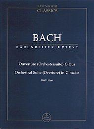 Ouvertüre (Orchestersuite) C-Dur BWV 1066. Studienpartitur. BÄRENREITER URTEXT